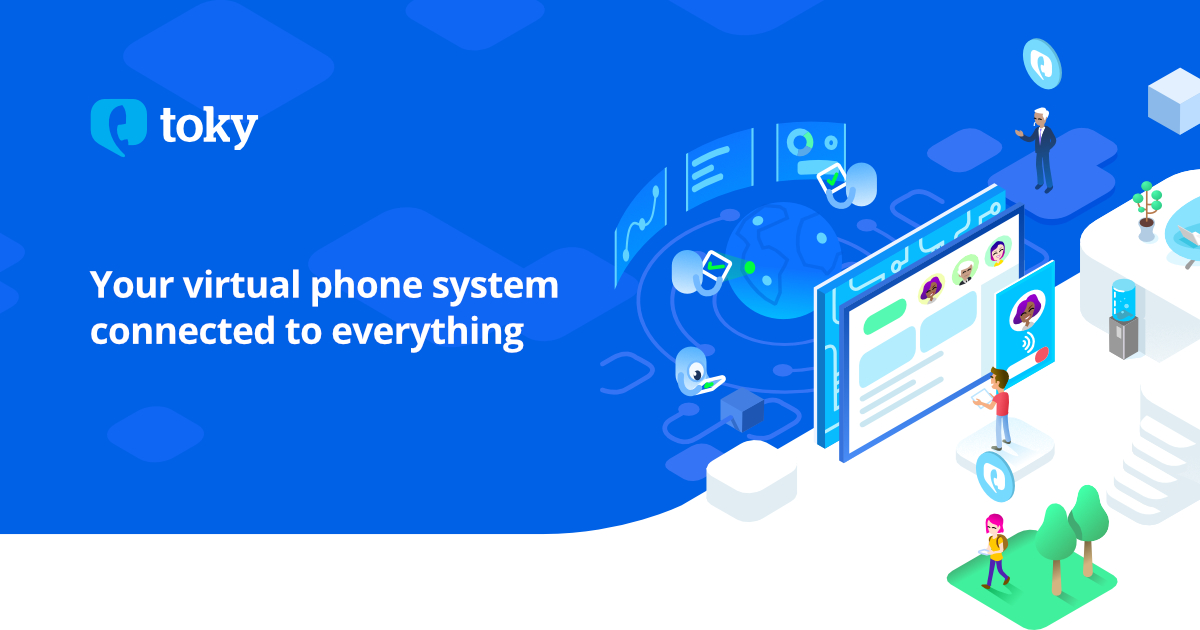 Virtual Phone System for Businesses | Toky